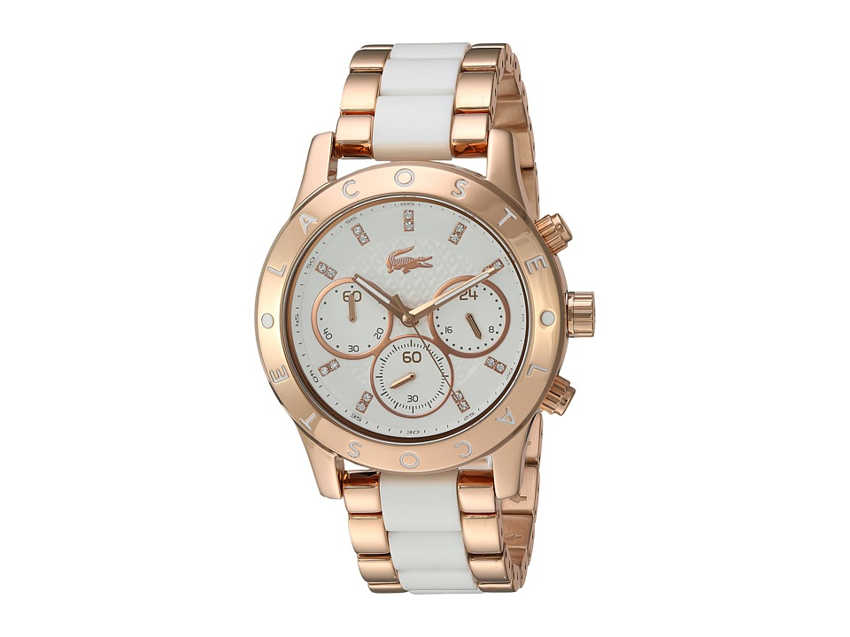 Lacoste - 2000911-CHARLOTTE (White/Gold) Watches