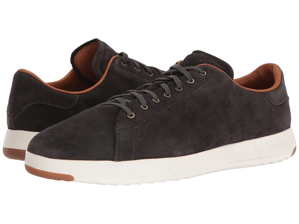 Cole Haan GrandPro Tennis Lux (Midnight Grey Oiled Velour Suede) Men