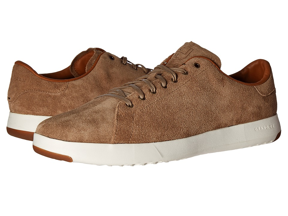 Cole Haan GrandPro Tennis Lux (Tan Oiled Velour Suede) Men