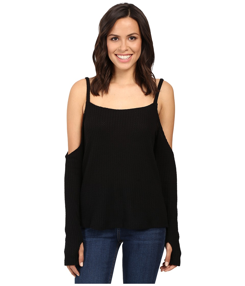 LNA - Crescent Sweater (Black) Women's Sweater