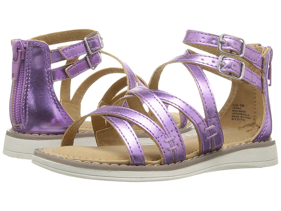 Hanna Andersson - Vera II (Toddler/Little Kid/Big Kid) (Purple) Girls Shoes