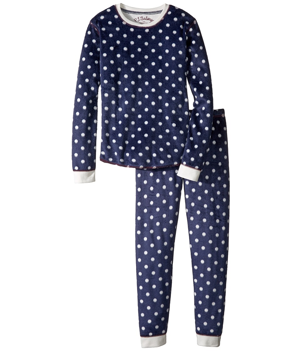 P.J. Salvage Kids - Polar Fleece Jammie Set (Toddler/Little Kids/Big Kids) (Polka Dot) Kid's Pajama Sets