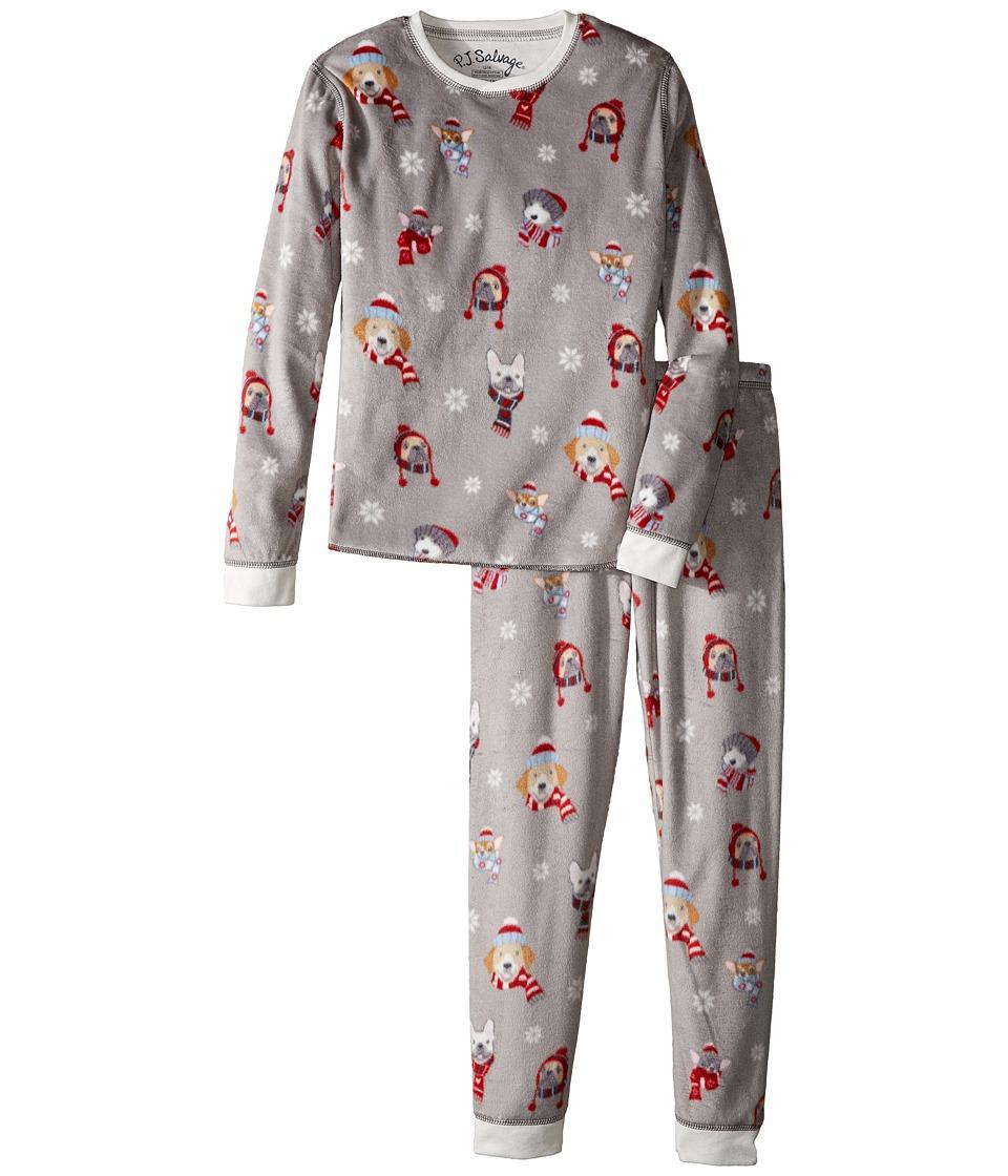 P.J. Salvage Kids - Polar Fleece Jammie Set (Toddler/Little Kids/Big Kids) (Winter Dog) Kid's Pajama Sets