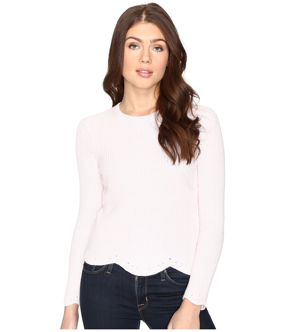 Ted Baker - Finda Scallop Edge Detailed Jumper (Dusky Pink) Women's Clothing