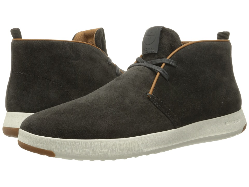 Cole Haan GrandPro Chukka (Midnight Grey Oiled Velour Suede) Men