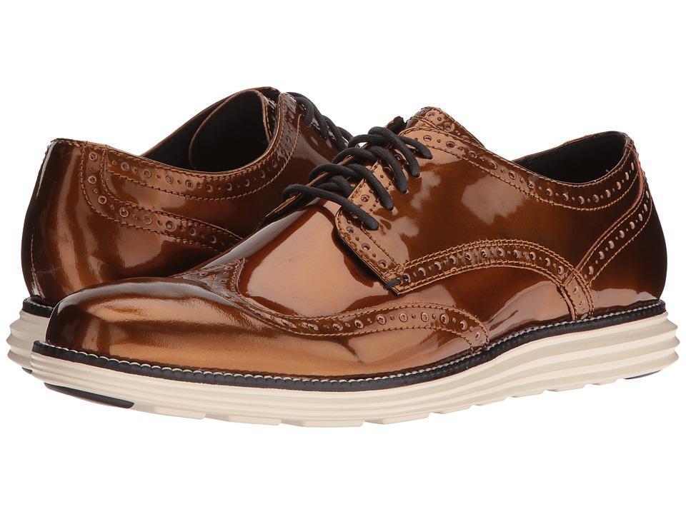 Cole Haan - Original Grand Wing Ox (Copper Speccio/Ivory) Men's Shoes