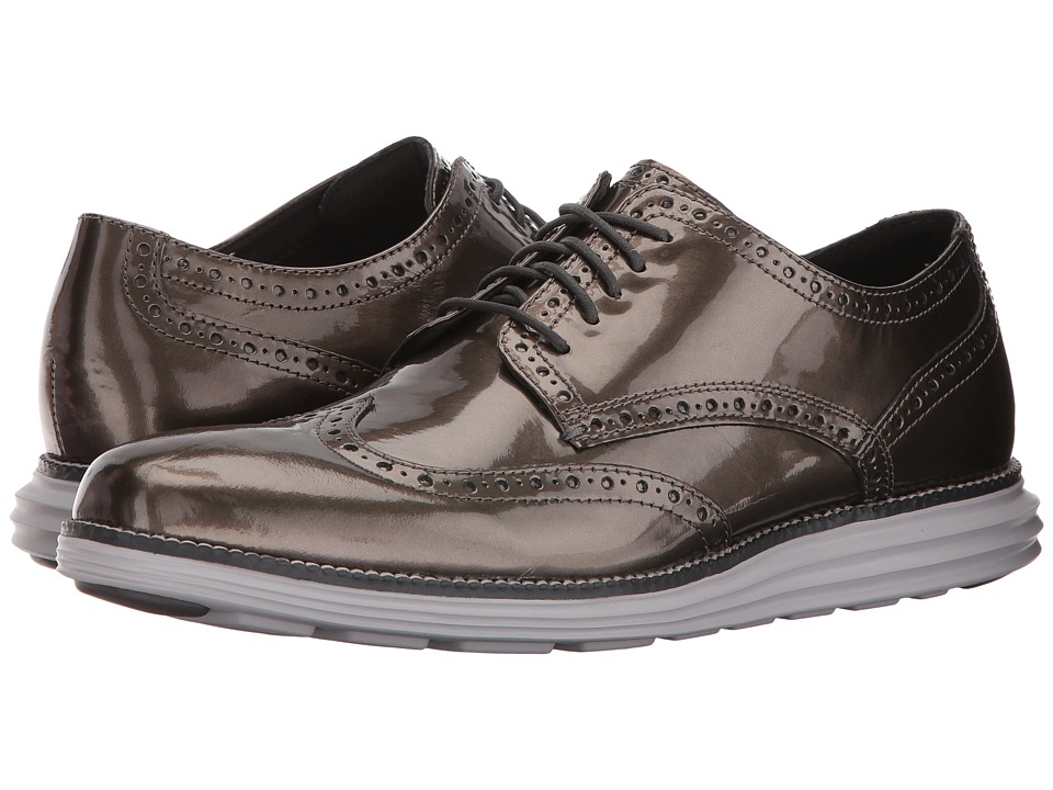Cole Haan Original Grand Wing Ox (Silver Speccio/Vapor Blue) Men