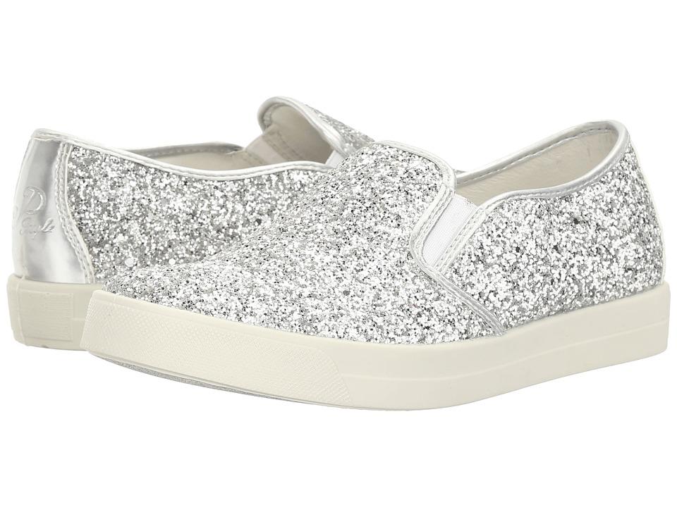 Primigi Kids - PAN 7578 (Big Kid) (Silver) Girl's Shoes