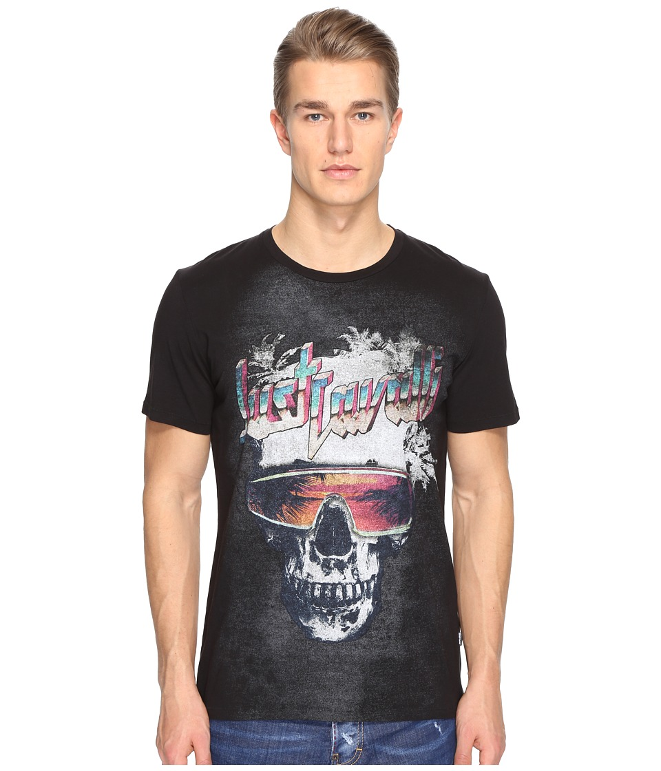 Just Cavalli - Skull T-Shirt (Black) Men's T Shirt