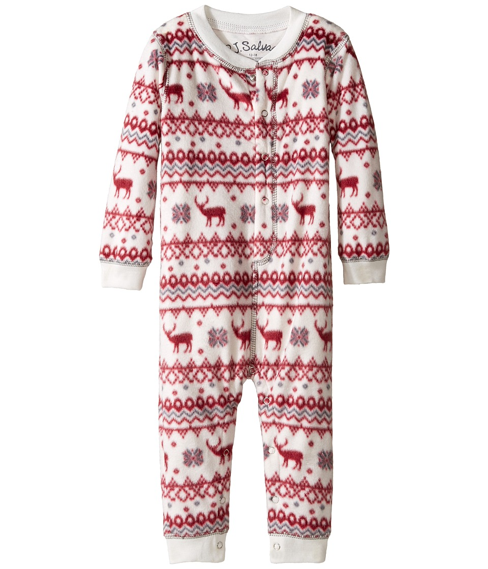 P.J. Salvage Kids - Fair Isle Romper (Infant) (Natural) Kid's Jumpsuit & Rompers One Piece
