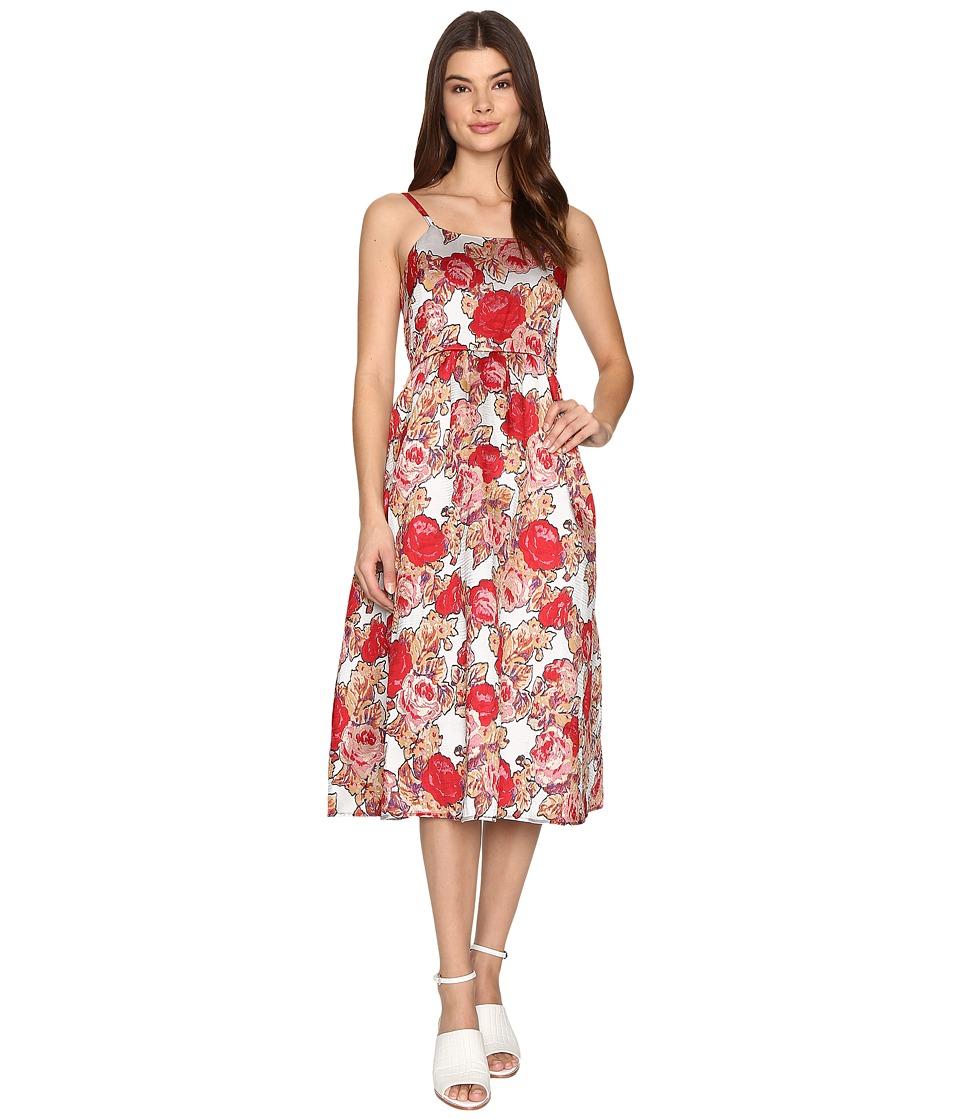 Rachel Antonoff Patrick Dress (Jacquard Rose Garden) Women