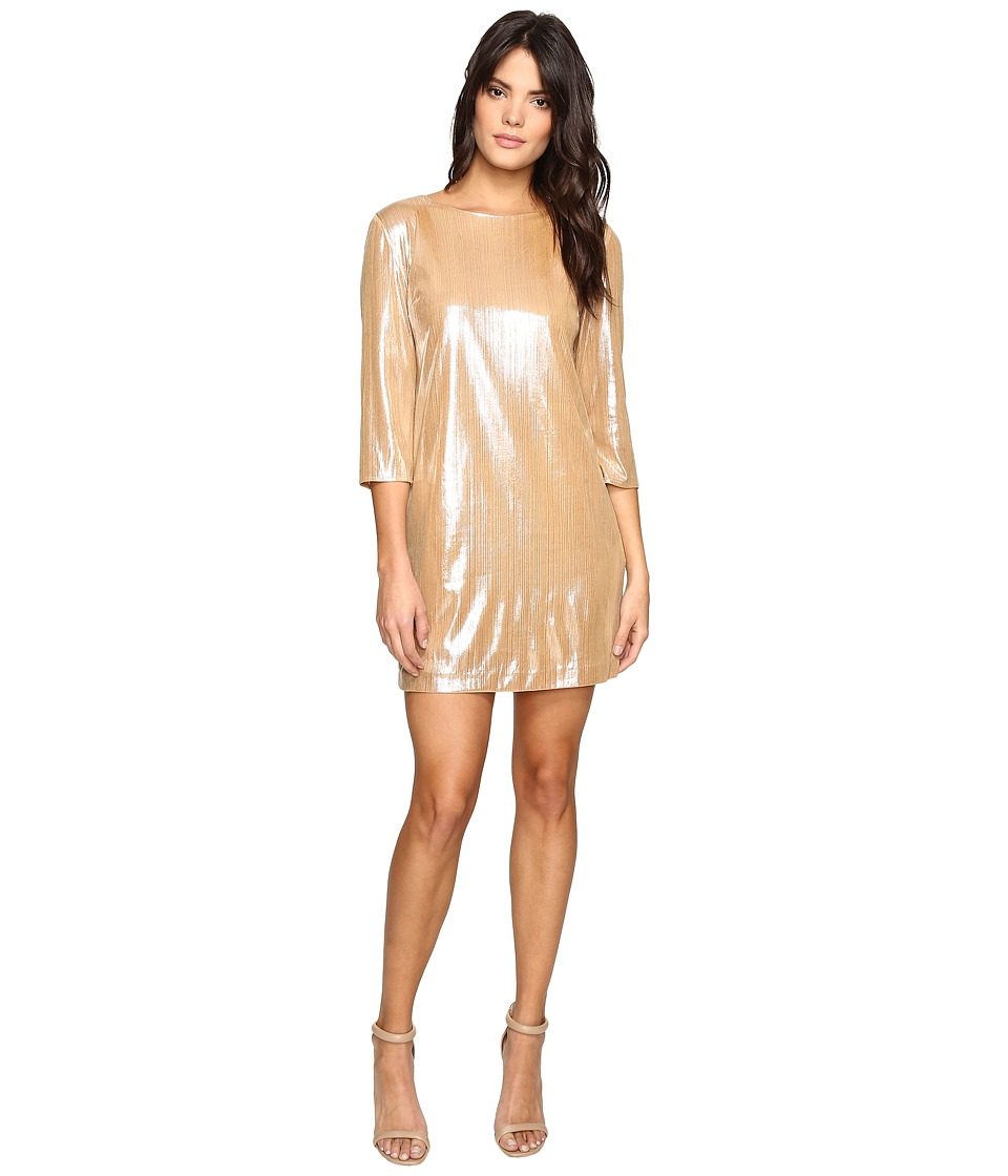 Rachel Antonoff - Nancy Shift Dress (Champagne Shimmer) Women's Dress