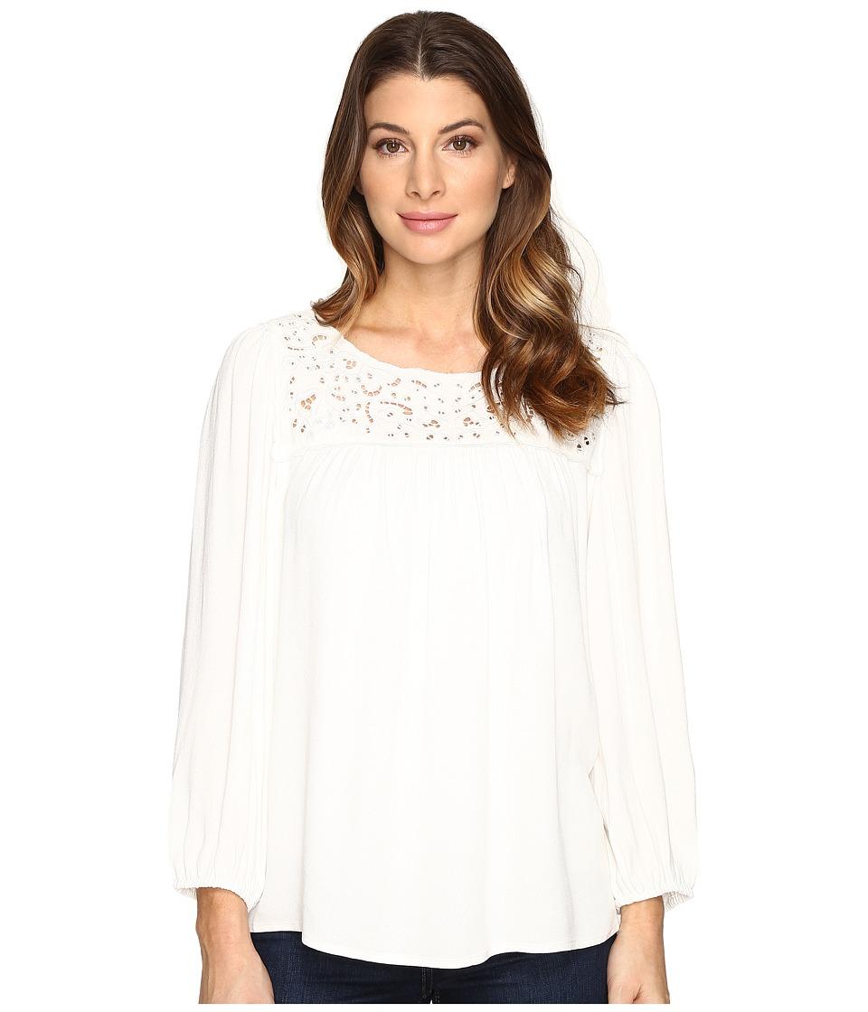 Joie - Sagrada Top A333-T4818 (Porcelain) Women's Clothing