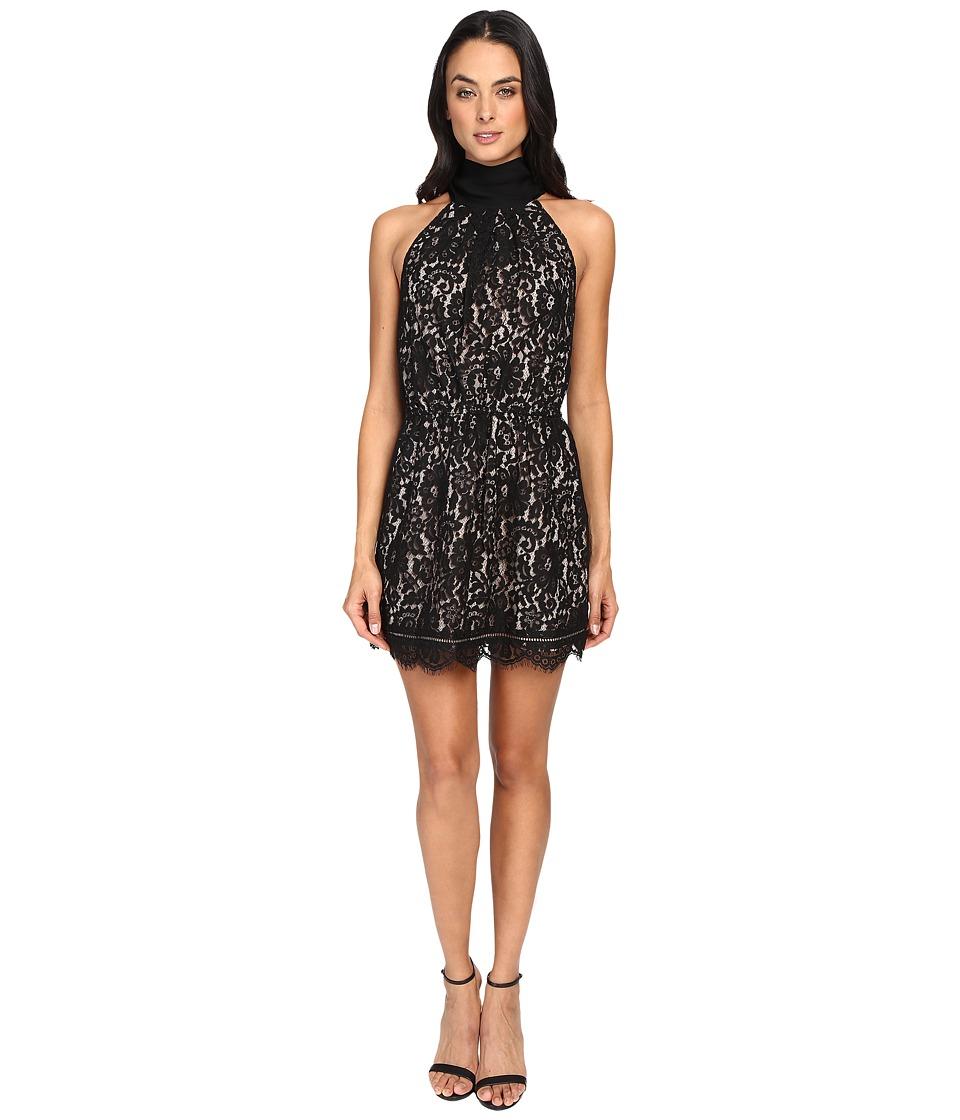 Joie Cyndi Lace Dress L18-D2555 (Caviar) Women