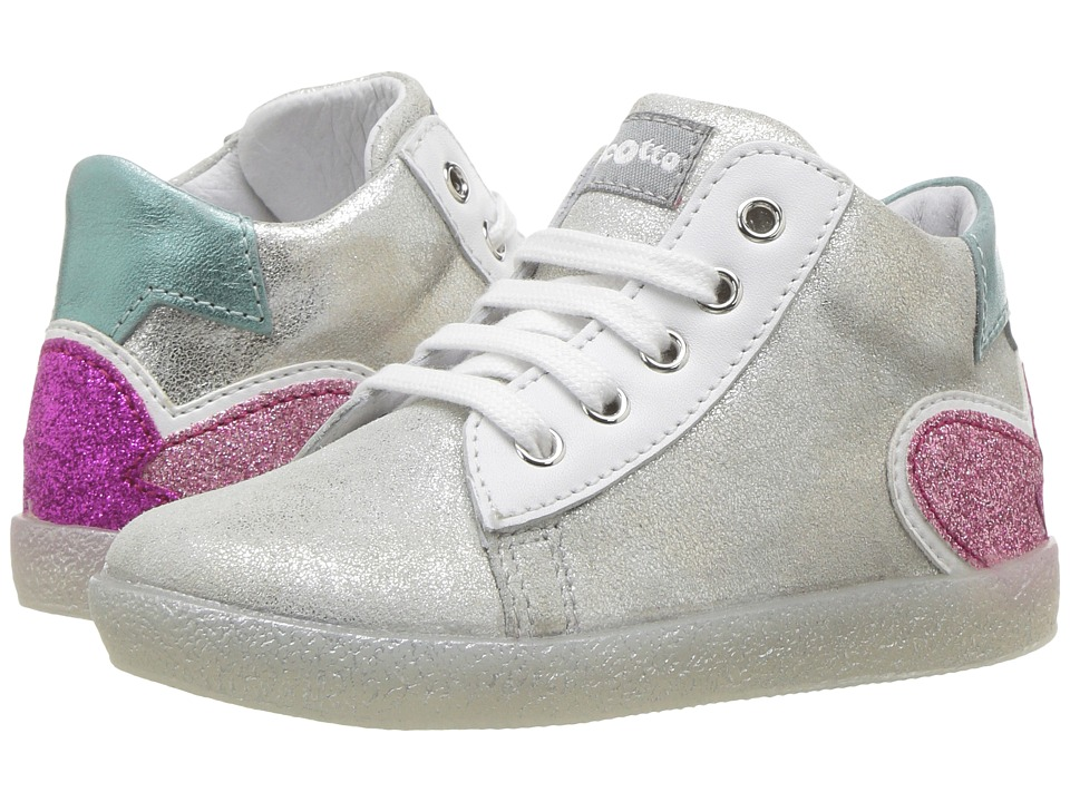 Naturino - Falcotto 1534 SS17 (Toddler) (Silver) Girl's Shoes