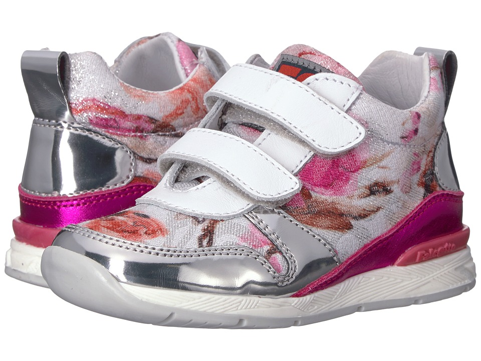 Naturino - Falcotto Daisy VL SS17 (Toddler) (Silver Multi) Girl's Shoes