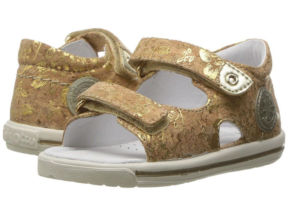 Naturino - Falcotto 1270 SS17 (Toddler) (Brown/Gold) Girl's Shoes