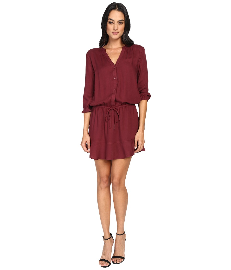 Joie - Parana 5359-D2487 (Merlot) Women's Dress