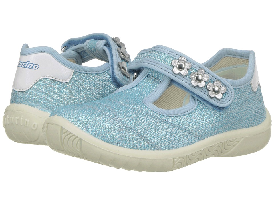 Naturino - 8005 USA SS17 (Toddler/Little Kid) (Blue) Girl's Shoes