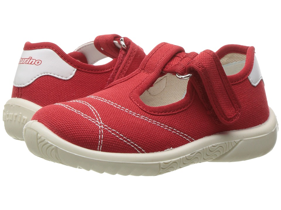 Naturino - 7742 USA SS17 (Toddler/Little Kid) (Red) Girl's Shoes