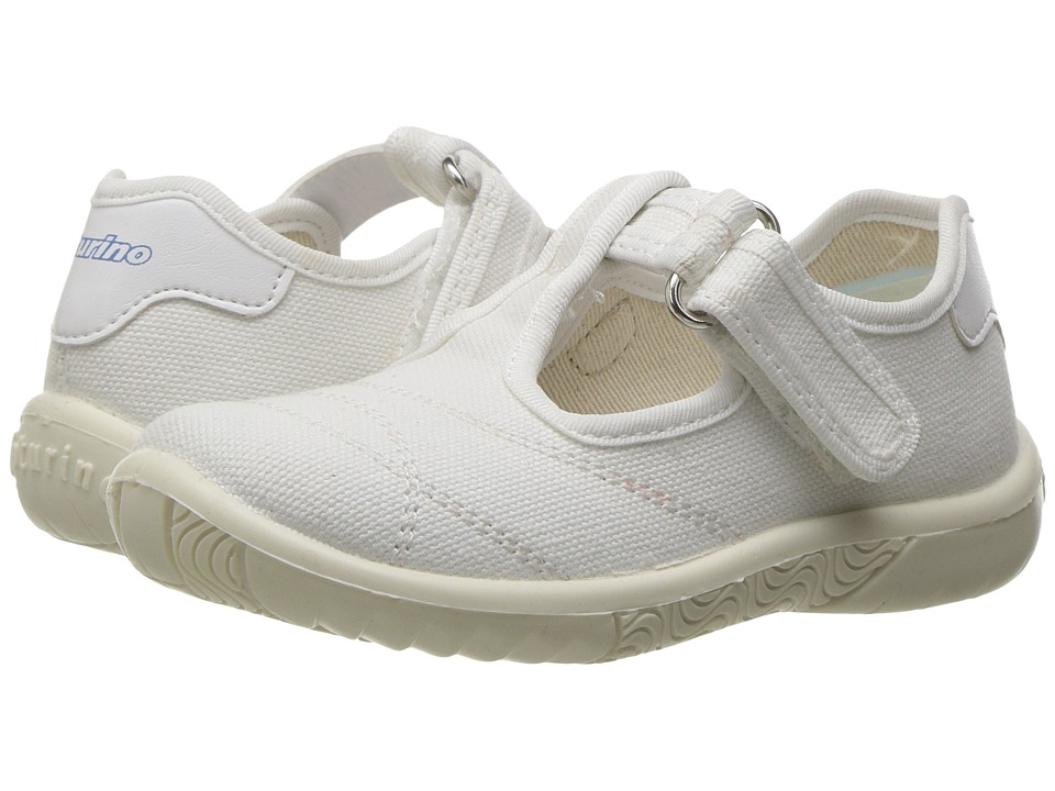 Naturino - 7742 USA SS17 (Toddler/Little Kid) (White) Girl's Shoes