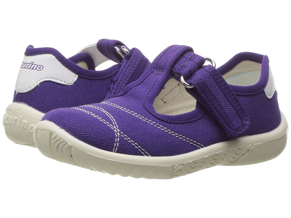 Naturino - 7742 USA SS17 (Toddler/Little Kid) (Purple) Girl's Shoes