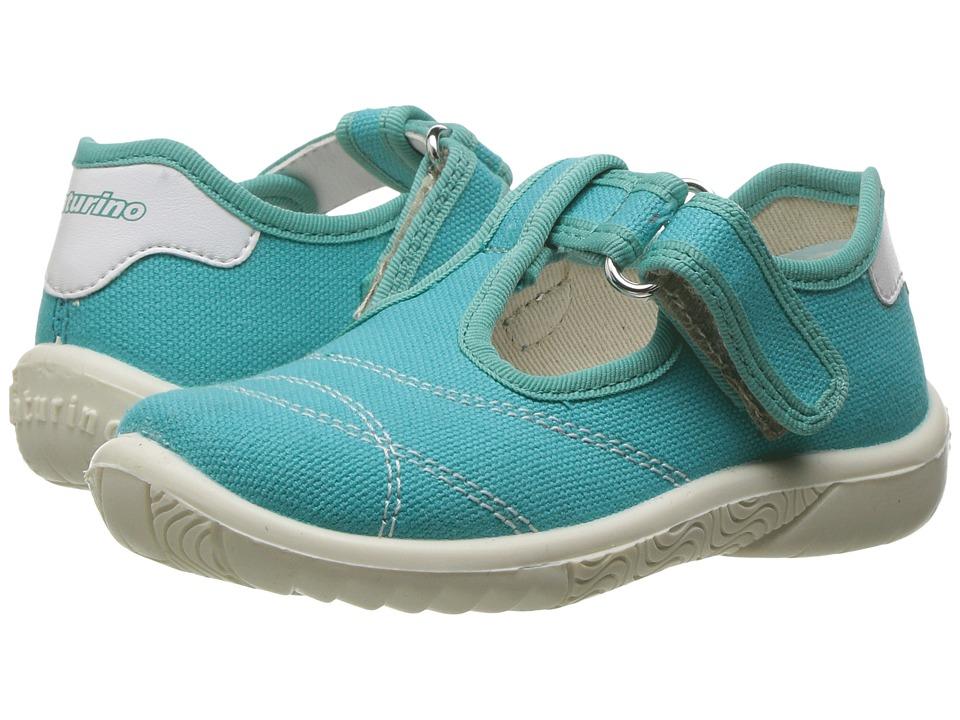 Naturino - 7742 USA SS17 (Toddler/Little Kid) (Aqua) Girl's Shoes