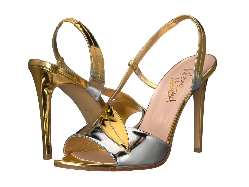 Vivienne Westwood Serpent Sandal (Gold/Silver) Women