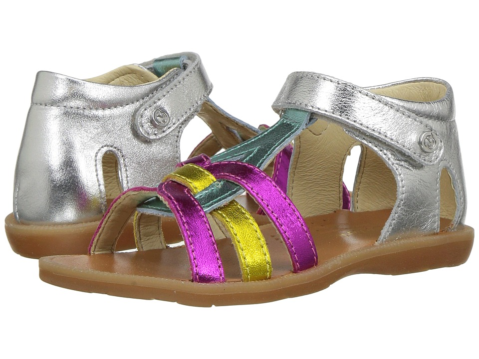 Naturino - 5040 SS17 (Toddler/Little Kid) (Multi) Girl's Shoes