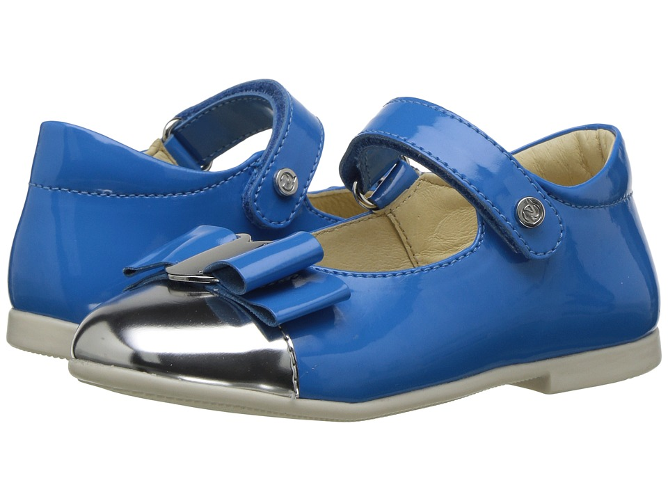 Naturino - 4739 USA SS17 (Toddler/Little Kid) (Blue) Girl's Shoes