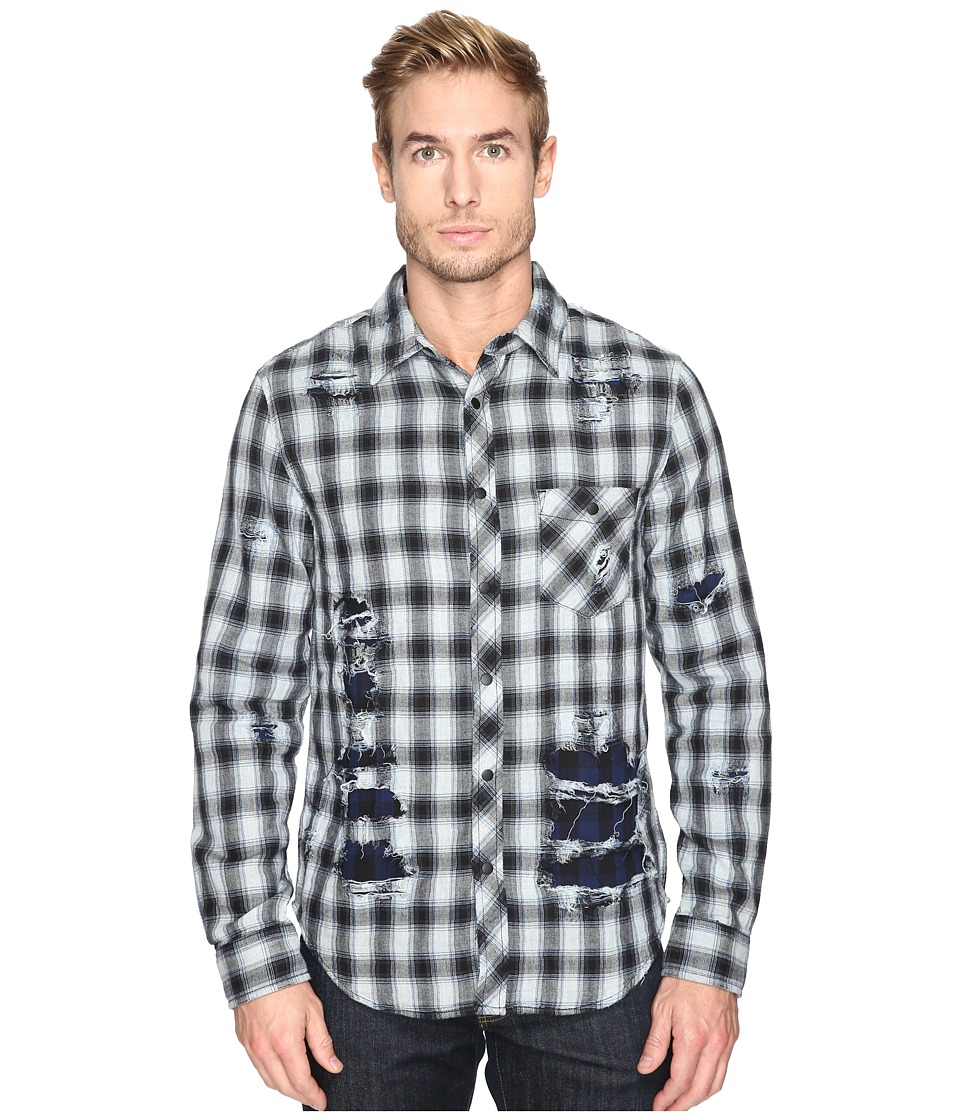 Hudson - Weston Button Shirt (Instinct) Men's Clothing