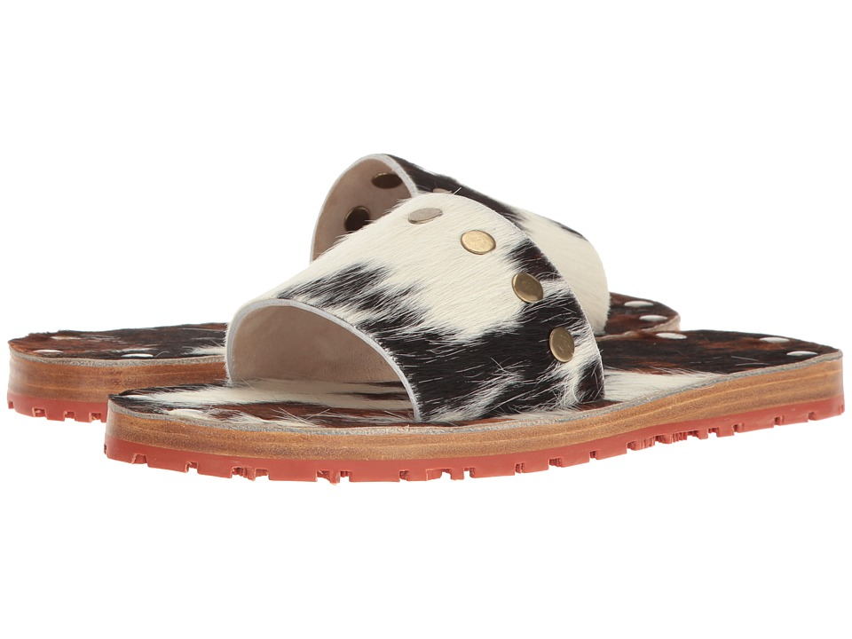Vivienne Westwood - Bacchus Slide (Brown/White) Women's Slide Shoes