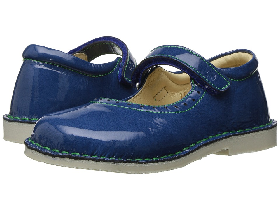 Naturino - 4875 SS17 (Toddler/Little Kid) (Blue Patent) Girl's Shoes