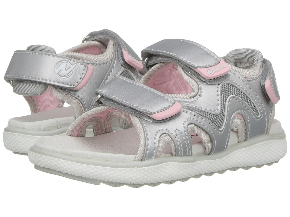 Naturino - Sport 549 SS17 (Toddler/Little Kid) (Silver) Girl's Shoes