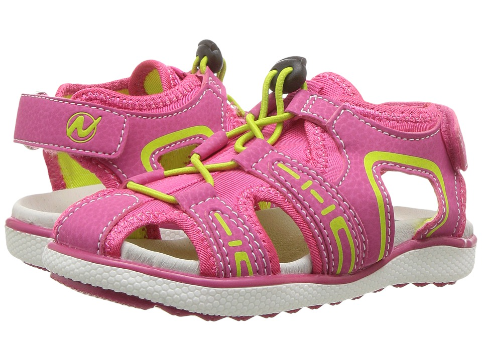 Naturino - Sport 197 SS17 (Toddler/Little Kid) (Fuchsia) Girl's Shoes
