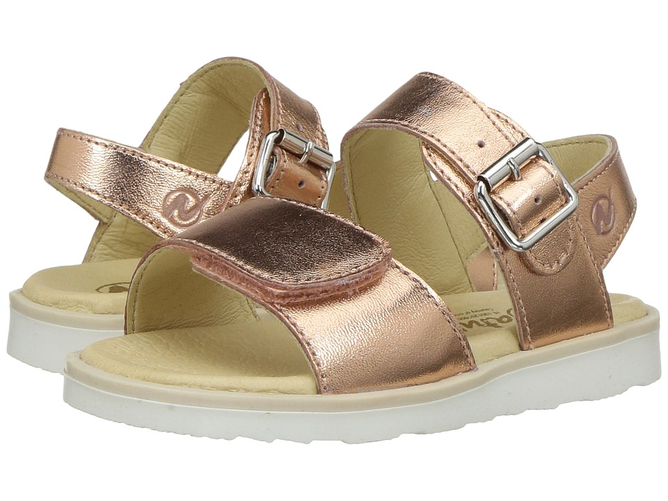 Naturino - 5005 SS17 (Toddler/Little Kid) (Rose Gold) Girl's Shoes