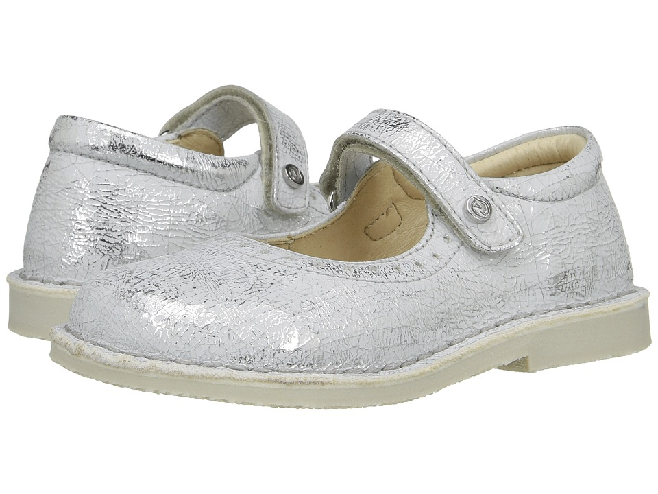 Naturino - 4875 SS17 (Toddler/Little Kid) (Silver) Girl's Shoes