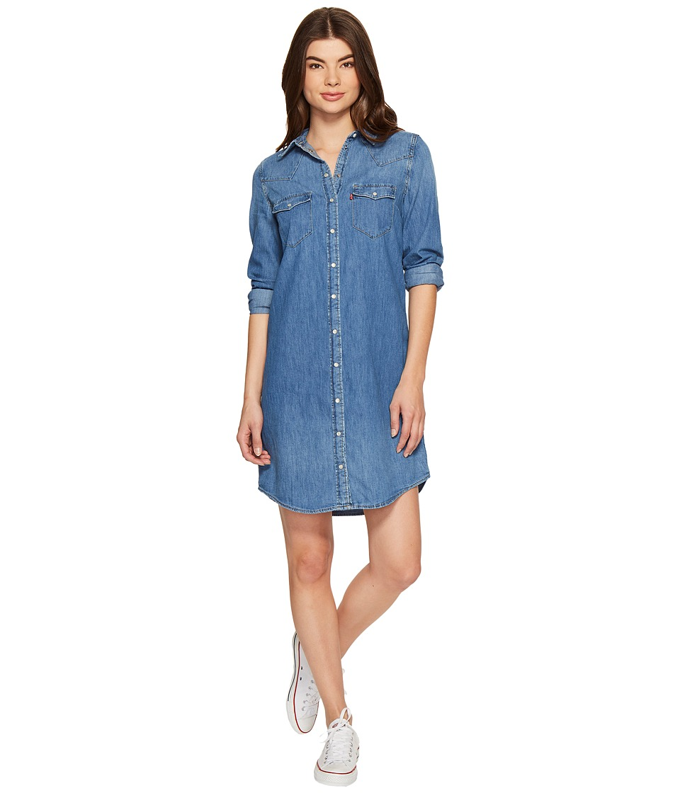 Levi's(r) Womens - Western Dress (Love Blue) Women's Dress
