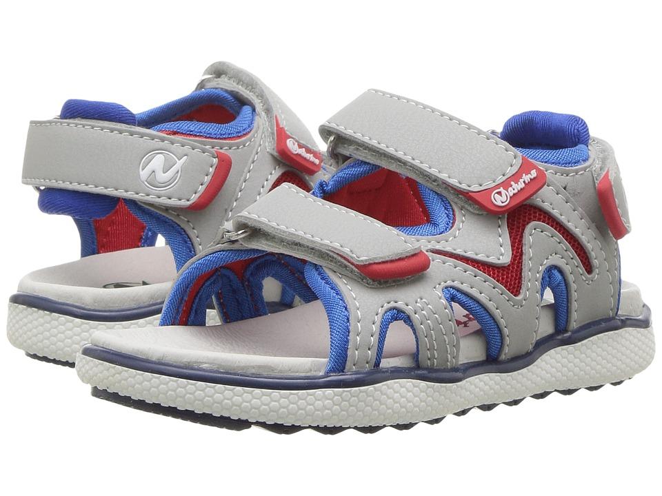 Naturino - Sport 549 SS17 (Toddler/Little Kid) (Grey) Boy's Shoes