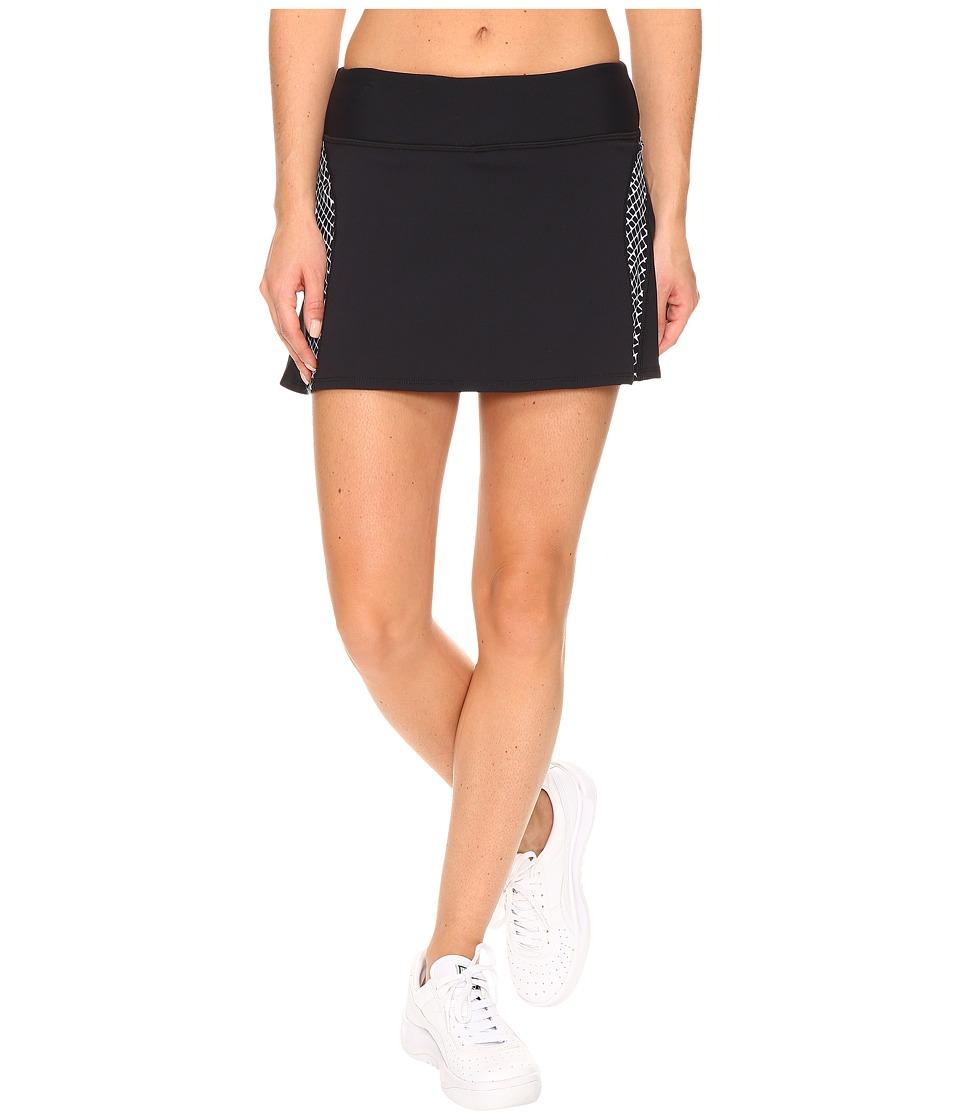 Trina Turk - Check Me Out Skirt (Black) Women's Skirt