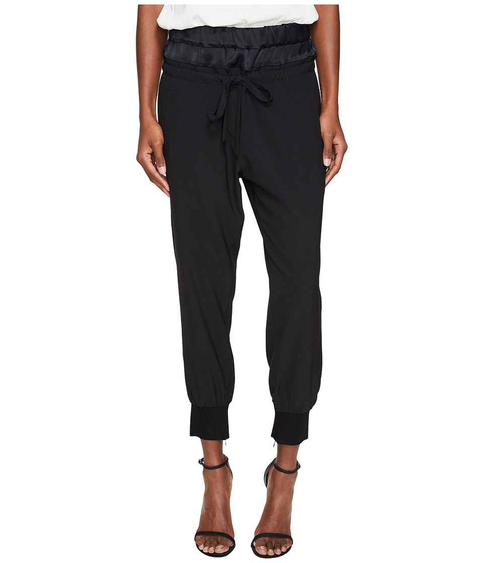 The Kooples - Bliss Night (Black) Women's Casual Pants
