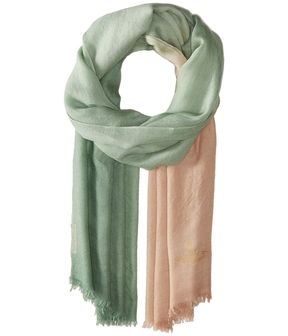 Vivienne Westwood - Highland Hues (Pale Green) Scarves