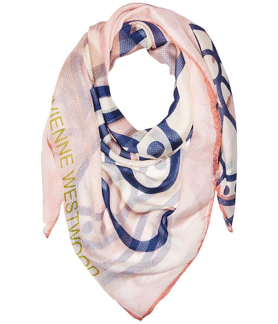 Vivienne Westwood - Flash Orb (Pink) Scarves