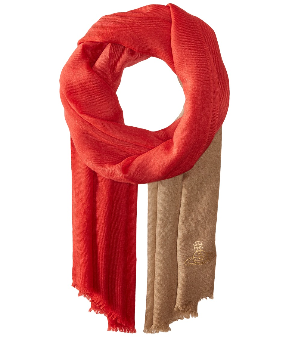 Vivienne Westwood - Highland Hues (Red) Scarves