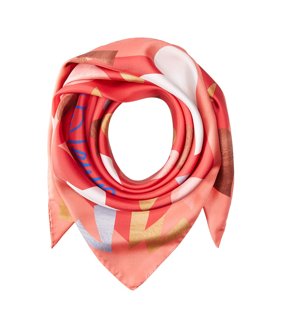 Vivienne Westwood - YSL Square (Red) Scarves