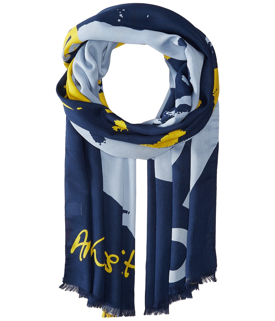 Vivienne Westwood - New Atlas (Navy) Scarves