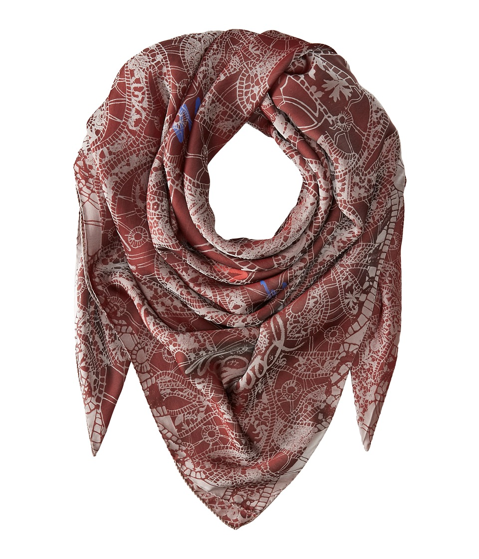 Vivienne Westwood - Cut Out Lace (Oxblood) Scarves