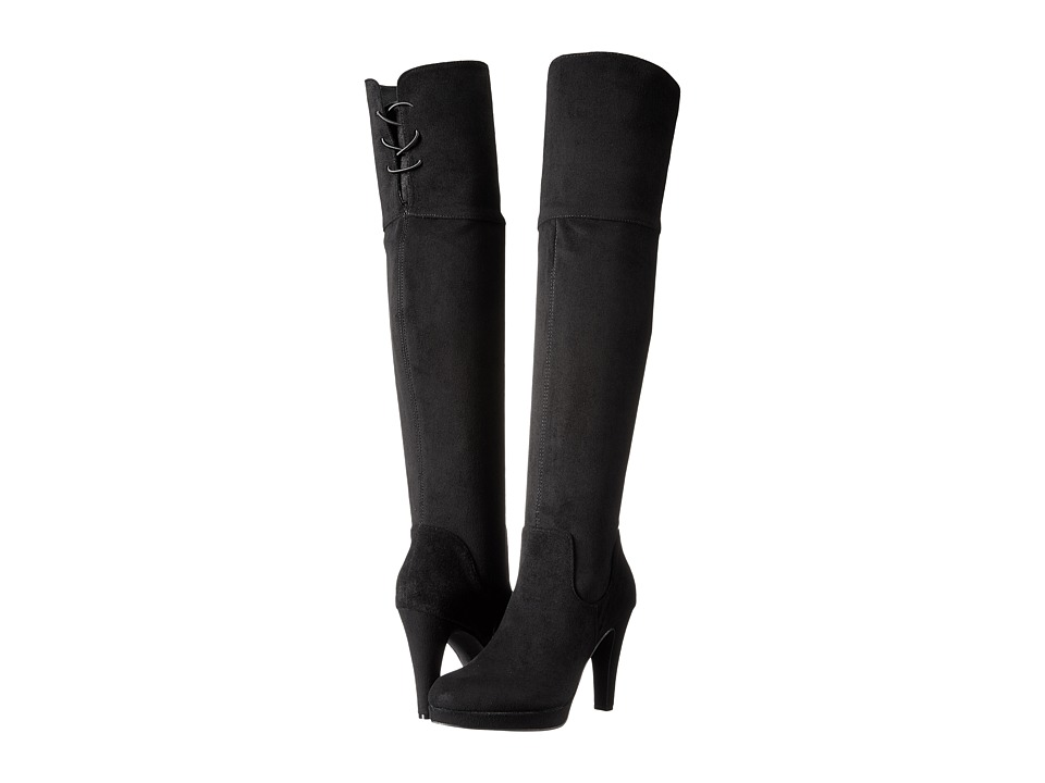 Kenneth Cole Unlisted - Film Romance (Black Nova Suede) Women's Boots