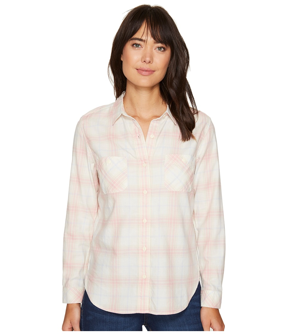 Levi's(r) Womens - Workwear Long Sleeve Boyfriend Shirt (Guzheng Mellow Rose) Women's Long Sleeve Button Up