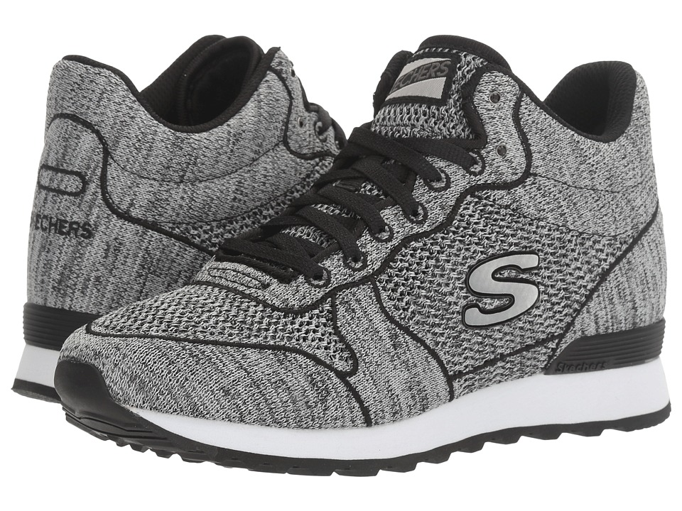 SKECHERS - OG 85 (Black) Women's Lace up casual Shoes